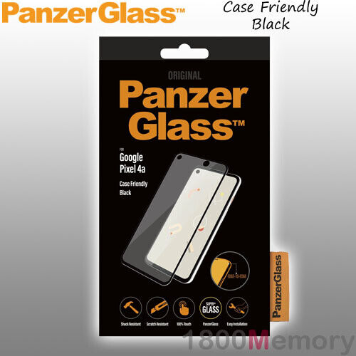 GENUINE PanzerGlass Clear Tempered Glass Screen Protector for Google Pixel 3a