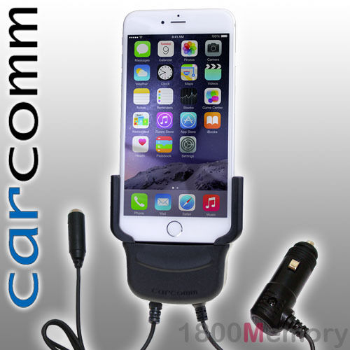 "Carcomm Power Cradle for Apple iPhone 8+ 7 Plus 5.5"" Car Charger Antenna Coupler"
