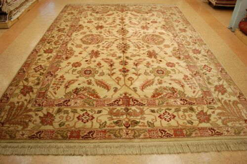 MINT AUTHENTIC AMERICAN KARASTAN AGRA PATTERN # 700/704 RUG 8.8x12 ROOM SIZE