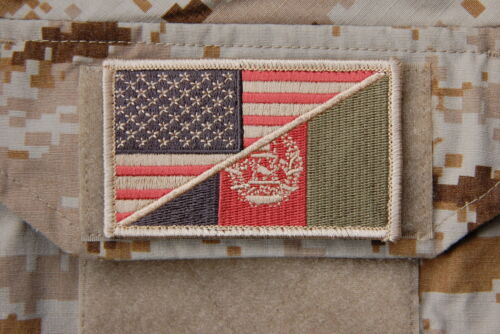 SEAL Team 6 NSWDG Subdued US/AFGHANISTAN Flag Patch DEVGRU No Easy Day MOHNavy - 48826