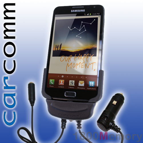 Carcomm Car Cradle Dock Charger Antenna Coupler for Samsung Galaxy Note GT-N7000
