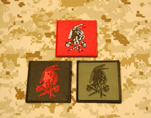NSWDG Red Squadron Shooter Patch Set Seal Team Six DevGru Red Team ST6 VELCRO® Reproductions - 156470