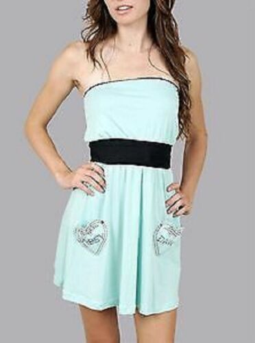 ABBEY DAWN BY AVRIL LAVIGNE HOLD FAST DRESS TURQUOISE