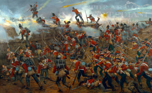 """""""The Battle of New Orleans"""" Don Troiani Limited Edition Print"""