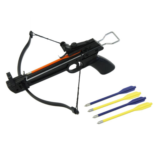 50 lb Pistol Hunting Archery Crossbow bow + 5 Bolts / Arrows 180 175 150 80 lbsCrossbows - 33972