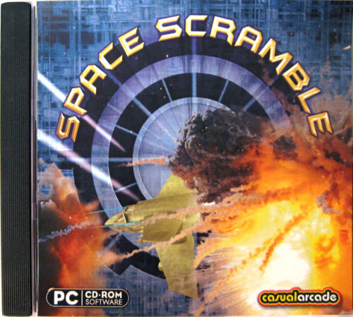 SPACE SCRAMBLE  -  PC GAME Brand New & Sealed