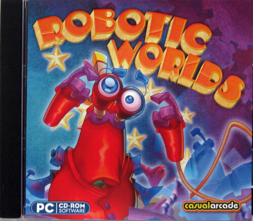 ROBOTIC WORLDS  -  PC GAME Aus. Stock  Brand New & Sealed