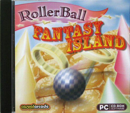 ROLLERBALL: FANTASY ISLAND  -  PC GAME Aus. Stock Brand New & Sealed