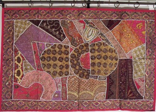 """Pink Home Decor Unique Bohemian Embroidery Large Tapestry Wall Hanging Art 60"""""""