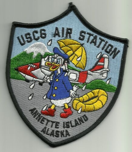 US COAST GUARD USCG AIR STATION ANNETTE ISLAND ALASKA MILITARY PATCH DONALDCoast Guard - 66530