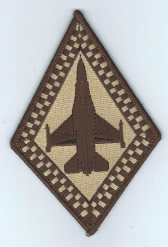 93rd FIGHTER SQUADRON F-16 DIAMOND desert patchAir Force - 48823