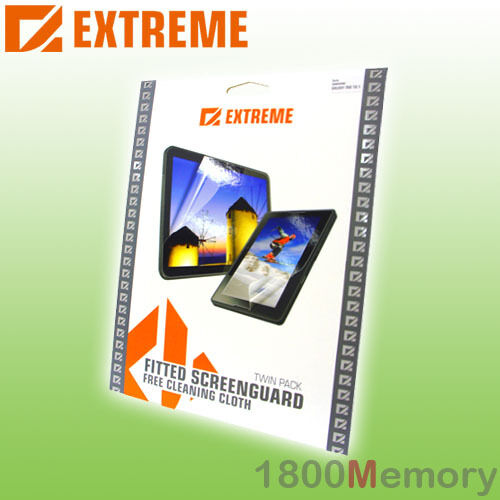 Extreme Screen Protector Guard 2Pack for HTC HD2 Clear Film Anti Glare Anti UV