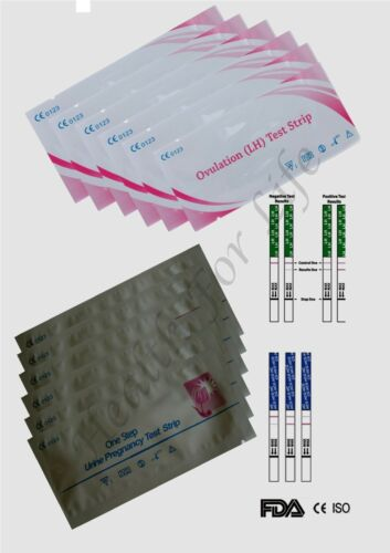 Ovulation&Ultra Early Pregnancy Test Strips,Fertility Packs FromE4.50 in Ireland
