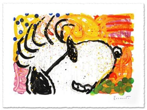 """""""POP STAR (SNOOPY)"""" by TOM EVERHART LIMITED EDITION LITHOGRAPH - FREE SHIPPING!"""
