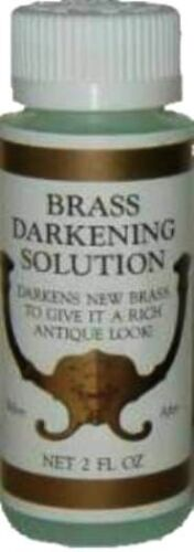 BRASS AGER & DARKENING SOLUTION 2 0Z.,  J-3492 (Results are not guaranteed)