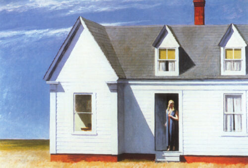 High Noon  by Edward Hopper   Giclee Canvas Print Repro