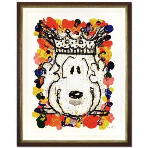 """FRAMED """"BEST IN SHOW (SNOOPY)"""" by TOM EVERHART LE LITHOGRAPH! MINT FREE SHIPPING"""