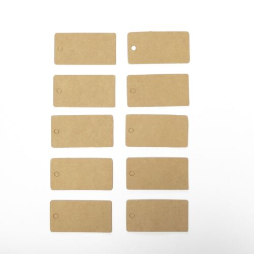 Lot of 10 Pieces Rectangle Hang Tag - 2