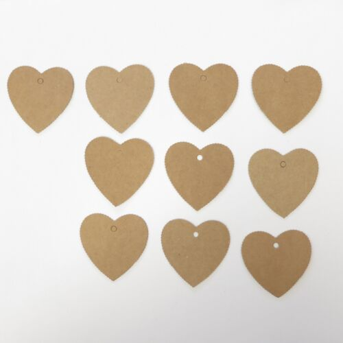 Lot of 10 Pieces Heart Hang Tag - 1