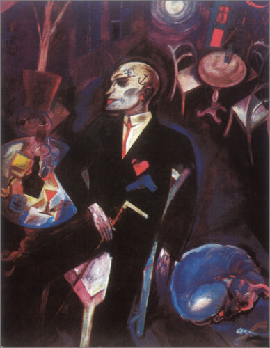 Lovesick  by George Grosz  Giclee Canvas Print Repro