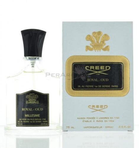 CREED ROYAL OUD, MILLESIME EDP, NEW BY CREED 2.5 OZ 75 ML, Unisex NEW IN BOX
