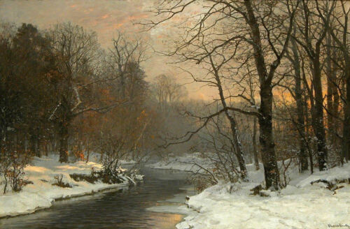 As Evening Falls  by Anders Andersen-Lundby   Giclee Canvas Print Repro