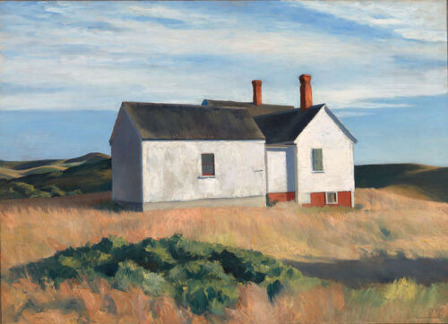 Ryder's House   by Edward Hopper   Giclee Canvas Print Repro