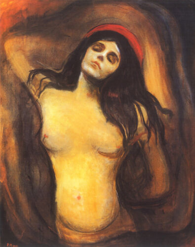 Madonna  by Edvard Munch   Giclee Canvas Print Repro