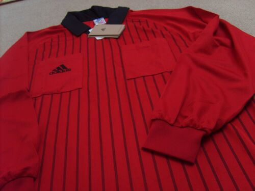 Genuine Adidas Men's World Cup France 1998 Football Referee Shirt, Size: M, L