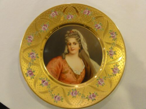 Magnificent Royal Vienna Plate signed Wagner