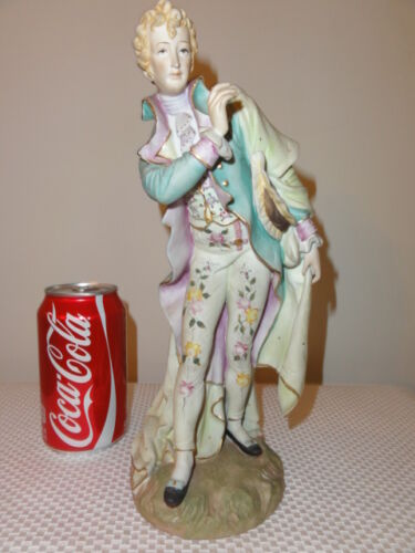 1960's Hand Painted Bisque PorcelainFigurine