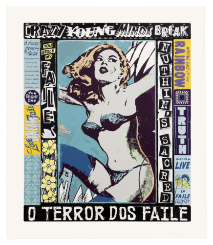 THE RIGHT ONE, HAPPENS EVERYDAY faile signed & numbered screenprint serigraph