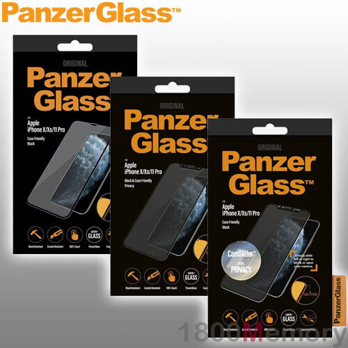 GENUINE PanzerGlass Tempered Glass Screen Protector for Apple iPhones