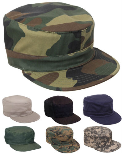 08210d72491 Fatigue Cap Hat Adjustable Camouflage Military Patrol Rothco 4544 93469 3441