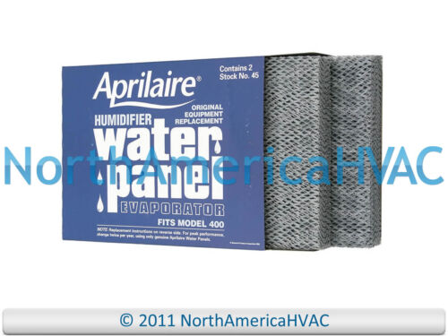 2xOEM 45 Aprilaire Humidifier Water Panel Pad 400A 400M