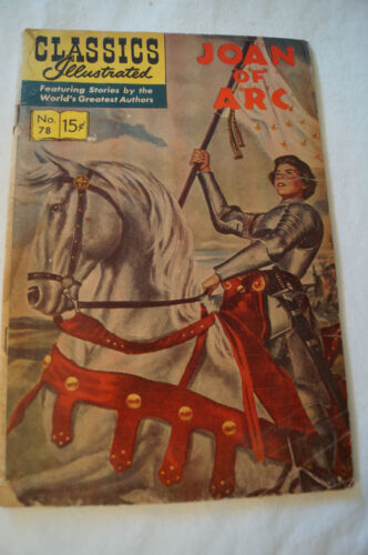 CLASSICS ILLUSTRATED VINTAGE COMIC - Joan of Arc