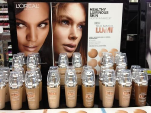 (1) L'oreal True Match Lumi Healthy Luminous Makeup Foundation , You Choose!