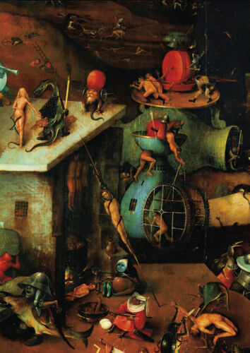 Hieronymus Bosch - Huge A0 size 84x118.8cm QUALITY Canvas Print Poster Unframed
