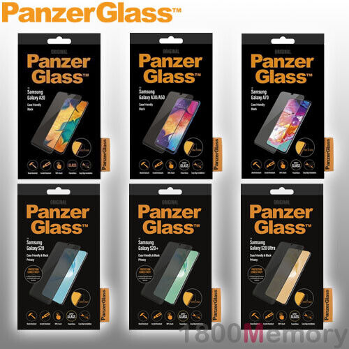 GENUINE PanzerGlass Tempered Glass Screen Protector for Samsung Galaxy Phones