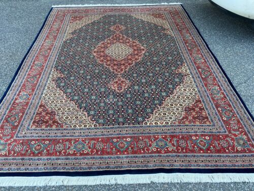 Traditional Hand Knotted New Zealand Luxury Wool SuperMood Area Rug 9x12