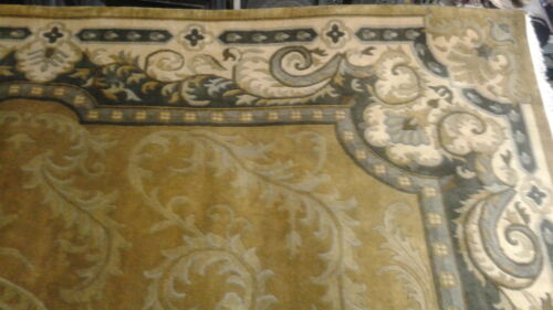 """Tibetan """"Grace"""" Hand Knotted Worsted wool Rug 11'-7' x 9'-0"""""""