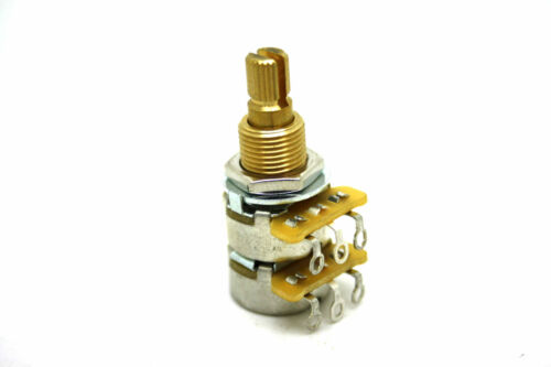 CTS DUAL 250K BLEND-BALANCE LINEAR TAPER POTENTIOMETER WITH CENTER DETENT