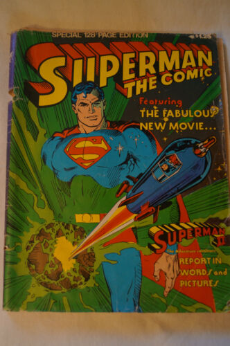 CLASSIC GORDON & GOTCH COMIC - Superman - The Comic - 128 page edition