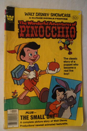 CLASSIC WHITMAN COMIC-Vintage Walt Disney -The Wonderful Adventures of Pinocchio