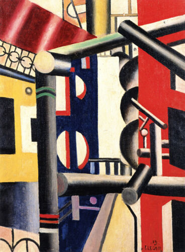 Scaffolding   by Leger Fernand   Giclee Canvas Print Repro