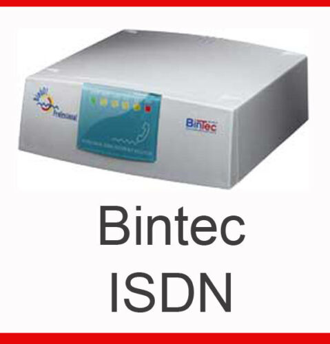 Isdn System + Bintec Bingo Plus Pro Router Top Condition Invoice Warranty
