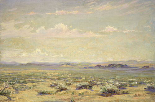 California Desert  by Lewis A Ramsey   Giclee Canvas Print Repro