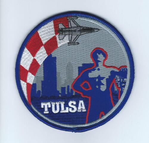 """125th FIGHTER SQUADRON """"TULSA"""" F-16 SWIRL !!THE LATEST!! patchAir Force - 48823"""