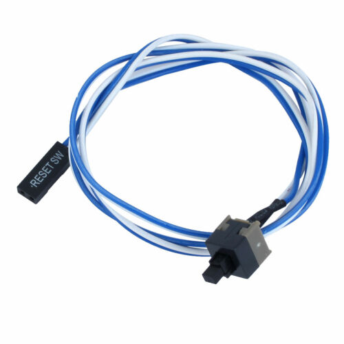 """Power Button Switch Cable Cord 52cm 20.5"""" Long for PC Switches Reset Computer"""