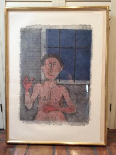 """Rufino Tamayo """"The Prostitute"""" ( With Frame )"""
